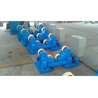 Motorized Moving Sand Blasting Pipe Welding Rollers For 400×120mm Rubber Wheels