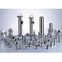 Wholesale 3A Stainless Steel Pipe Fittings For Milk Production Line Juice Processing Line from china suppliers