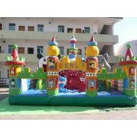 Buy cheap Giant Inflatable Theme Park , Blow Up Fair Land For Residential Park Games from wholesalers