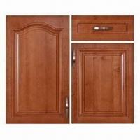 China Kitchen Cabinet Doors, Made of Solid Wood in Nature Finish on sale