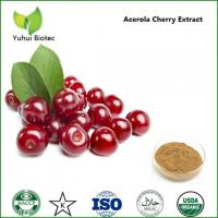 Wholesale acerola cherry fruit extract,natural acerola cherry extract,Vitamin C 17% 25% HPLC from china suppliers