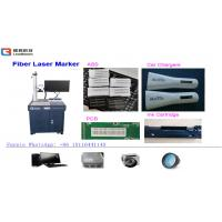 Wholesale 30W Air Cooling Fiber Laser Printing Machine For Glasses / Clocks / Watches from china suppliers