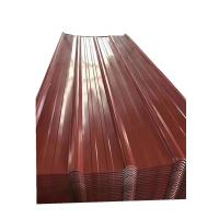 Wholesale Qinyuan Prime PPGI Corrugated Steel Roofing Sheets Standard Exporting Packaging from china suppliers