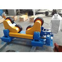 Single Power Tank Turning Rolls with Rubber Wheels Self Adjustment Welding Rotataor