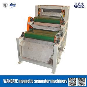 Belt Conveyor Magnetic Separator Machine 1.5KW , 150x1200mm Magnetic Roller Specification