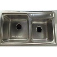 Wholesale China Factory Suppy Stainless Steel Kitchen Sink WY-7239D from china suppliers