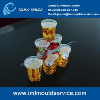 Wholesale thin wall plastic injection moulding with IML, plastic thin wall mould making with IML from china suppliers