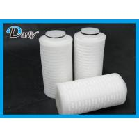 Best PTFE Pleated 0.22 Micron Filter Cartridge Electronic Industry Use wholesale