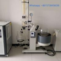 Wholesale Laboratory Glassware Cooler Roto Vap Extract Glass Distiller Alcohol Solvent Plant Oil Extraction Machine from china suppliers
