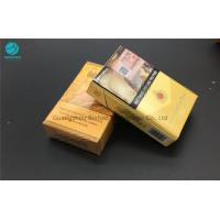Environmental Tobacco Packets ,  Ivory Cardboard Cigarette Cases Box