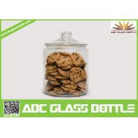 China High quality biscuit glass jar with easy open end on sale