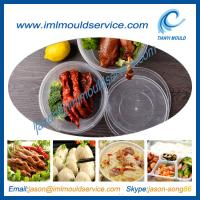 Wholesale clear 1750ml thin wall plastic rice and food bowls moulding with lids disposable from china suppliers
