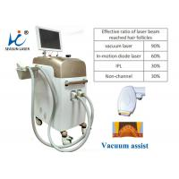 China Mini Pain Free Permanent Vacuum Laser Hair Removal Equipment For Men Use on sale