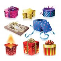 Buy cheap High Quality Die-cut Handle Paper Gift box from wholesalers