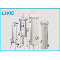 Wholesale Stainless Steel Cartridge Filter Housing Reliable With High Filtration Rating from china suppliers