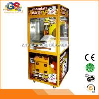 China Guangzhou Electronic Products Toys Arcade Claw Crane Vending Machines for Sale on sale