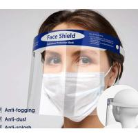 Wholesale Splash Proof Disposable Face Shield Non Toxic Tasteless With Elastic Band from china suppliers