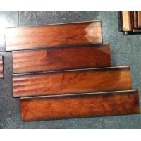 Quality hand scraped Taun hardwood flooring/solid Taun wood flooring for sale