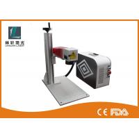 IPG Color Laser Marking Machine 50 Watt Lifting Type With Galvanometer Head