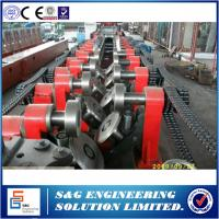 Galvanized Steel C Purlin Roll Forming Machine For Wall Panel European Standard
