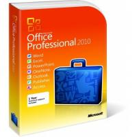 Wholesale 2 GB RAM Microsoft Office 2010 Pro Plus Retail Box DVD Activation Easy Operation from china suppliers