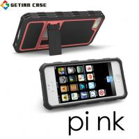 Wholesale New Design PC + TPU Cell Phone Covers with Stand, Hard Case Cover for Iphone 5 from china suppliers