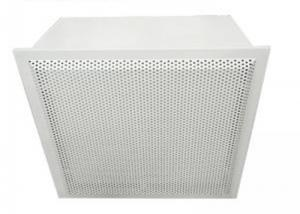 Wholesale Cleanroom Hepa Filter Terminal Box Class 10000 For Electronic Plant from china suppliers