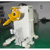 China Sheet Metal Uncoiling Machine 0.1-1.6mm Automatic Machine For Stamping Feeding Line on sale