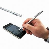 Wholesale Stylus Pens for iPhone/iPad and All Capacitive Touch Screens with Plastic Hanger from china suppliers