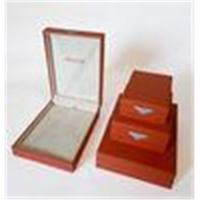 Cardboard Gift Box Rectangle or Round Custom Panton Color Printing for jewelry necklaces for sale