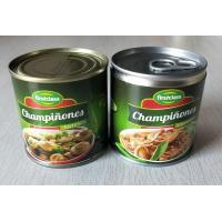 Buy cheap 184G Canned Champignon Mushroom Canned Fresh Mushrooms Slices / Pieces And Stems from wholesalers