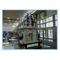 Wholesale Four Mast Self Propelled Aerial Scissor Lift 10m For Business Decoration from china suppliers