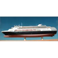 MS Veendam Cruise Coast Guard Ship Models , Holland America Line Antique Model Ships for sale