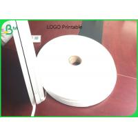 China Biodegradable 26gsm - 32gsm Drinking Straw Wrapping Paper with Logo printing on sale