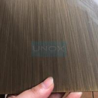 Wholesale SUS304 Brass Hairline Stainless Steel Sheet ,PVD Color Decoration Sheets 1250mm 1500mm , Copper Brass Bronze Plates from china suppliers