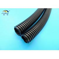 Wholesale PA PP PE Plastic Soft Corrugated Hose / Pipes / Tubing for Electrical Wire from china suppliers