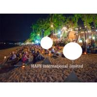 Wholesale Seaside Party Illuminate Lights Inflatable Lighting Decoration For Seaside Landscape from china suppliers