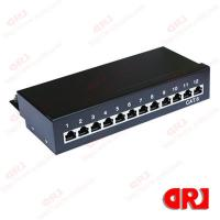 China FTP cat5e Krone patch panel 12 port 1U with 3 u Gold plating Cat5e Patch Panel on sale