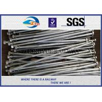 Wholesale Railway HEX Bolt GB  Standard Hot Dip Zinc with 24x3x1100mm 45# material from china suppliers