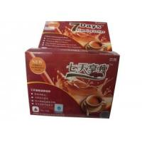 Wholesale Original herbal 7 days herbal slimming coffee, fast green coffee lose weight from china suppliers