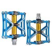 Wholesale RockBros Cycling Aluminum Alloy Platform Z4 Sealed Bearing CNC Spindle Pedals from china suppliers