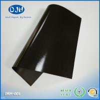 Flexible Rubber Custom Industrial Magnets Adhesive Roll / Sheet / Strip Shaped for sale