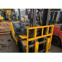 China Komatsu FD30 2nd Hand Forklift Used Diesel Engine Forklifts 3t 5t 7t 1 Year Warranty on sale