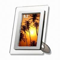 Wholesale 9.2-inch Digital Photo Frame with 128M Inside Memory and Full Window View from china suppliers