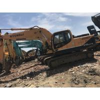 Wholesale 21 Tonnage Hyundai R215LC-9  Second Hand Excavators With Water Coolant Engine & A/C Cab from china suppliers