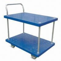 Wholesale Platform Hand Trucks with 2 Layers and Single Side Handle, OEM Orders are Welcome from china suppliers