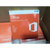 Wholesale Microsoft Office 2016 Pro Plus Key Genuine Key Card Retail Box With 3.0 USB from china suppliers