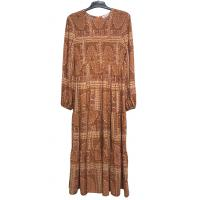 China 100% Rayon Material Custom Womens Dresses / Ladies Casual Beach Dresses for sale