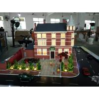 China Miniature UK resort hotel scale model , 3d table display maquette mockup on sale