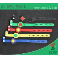 Wholesale RFID one-time PVC wristband tag (LF/HF, Product Type:ZT-BWD-W03-L) from china suppliers